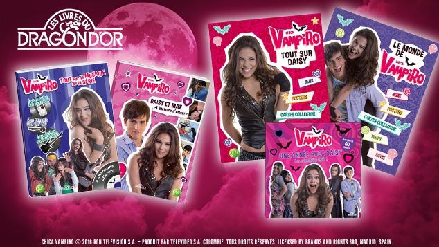 Chica Vampiro : les livres d'activités