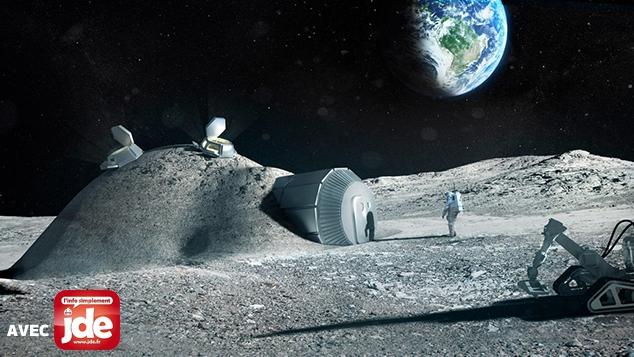 Espace : objectif Lune