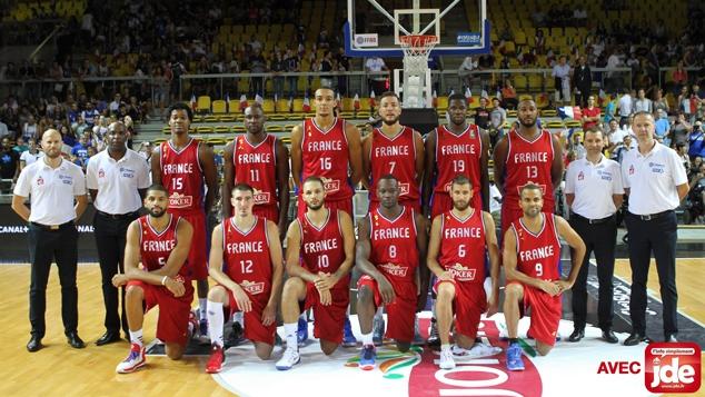 L'équipe de France de basket avant l'Euro 2015