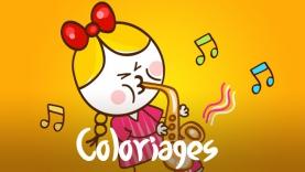 Coloriages fête de la musique