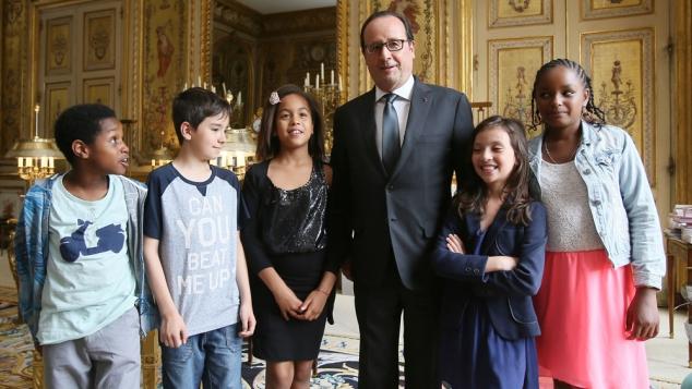 Gulli à l'Elysée : les enfants et François Hollande