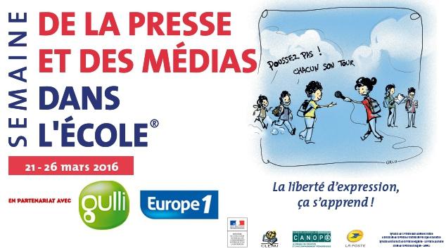 Gulli t'invite à la 26ème semaine de la presse et des médias à l'école