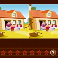 Le jeu des 7 différences sur Gullimax