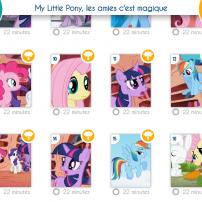 Les épisodes de My Little Pony sur Gullimax