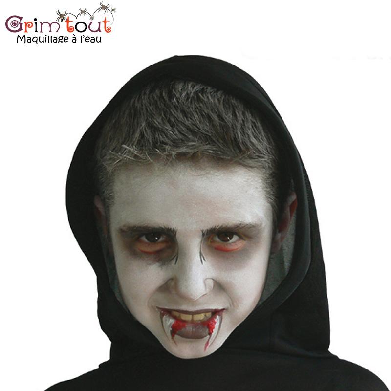 Maquillage enfant halloween vampire - Maquillage vampire enfant ...