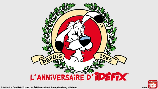 Idéfix fête ses 50 ans