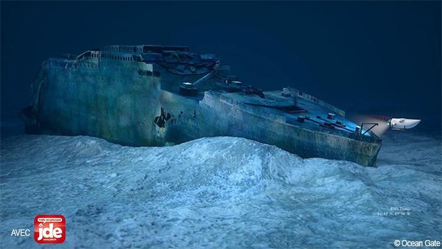 Insolite : rendre visite à l'épave du Titanic