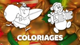 Les Coloriages de Noël