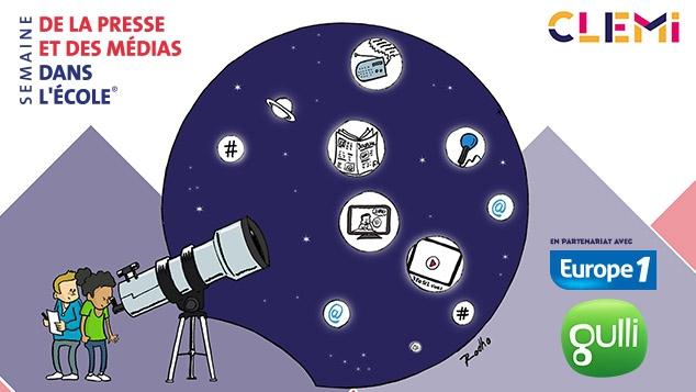 Gulli t'invite à la 28ème semaine de la presse et des médias dans l'école
