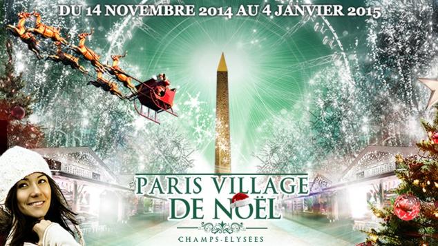 Le Marché de Noël des Champs Elysées 2014