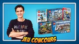 Jeu concours LEGO® CITY - La Mission