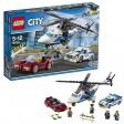 LEGO® City - La course-poursuite en hélicoptère