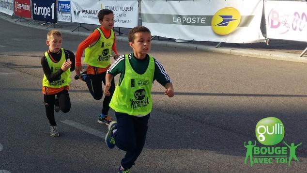 Les 10km de Rouen pour les enfants