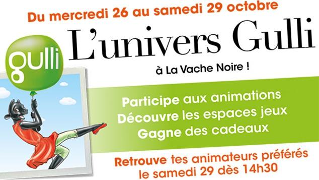 Du 26 au 29 Octobre, les Gulli Days débarquent à Arcueil !