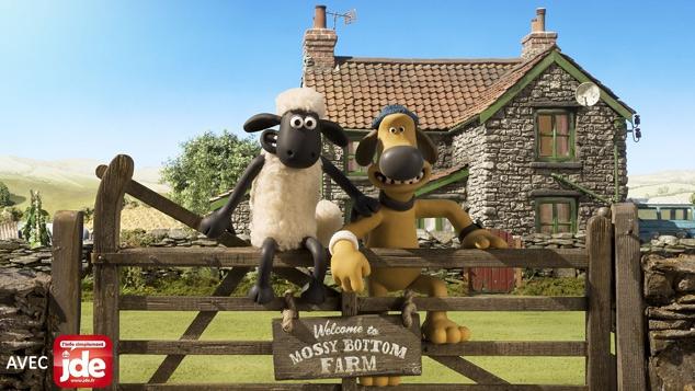Shaun le mouton, héros des studios Aardman