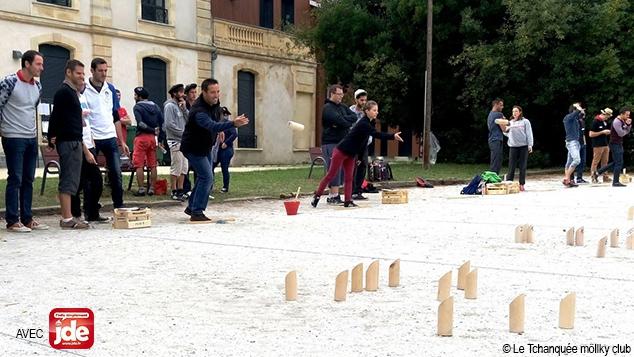 Sport : Möllky, drôle de jeu de quilles