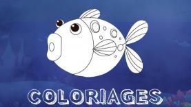 Les Coloriages poisson du 1er avril sur gulli.fr