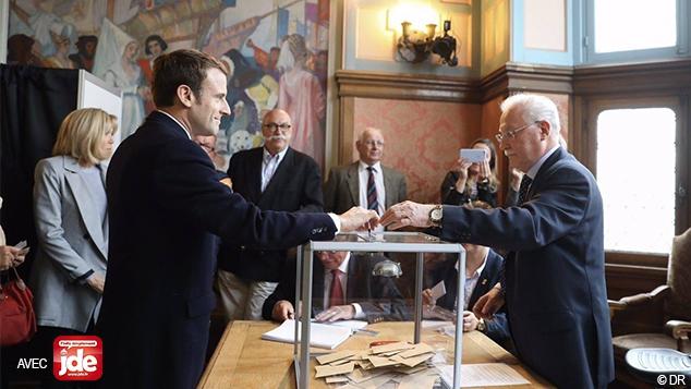 Emmanuel Macron élu président
