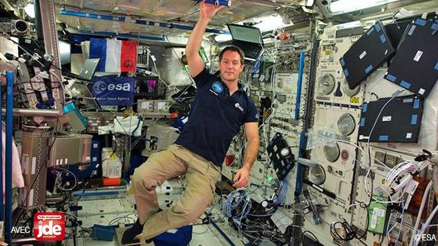 Thomas Pesquet : journal d'un envoyé spatial