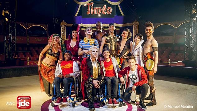 Les comédiens à l'affiche du spectacle Timéo
