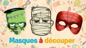 Vive le Carnaval ! - Masques à découper
