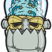 Vive le Carnaval ! - Masque Frankenstein Robot