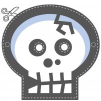 Vive le Carnaval ! - Masque Squelette