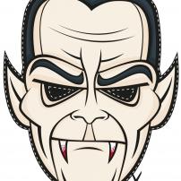 Vive le Carnaval ! - Masque Vampire
