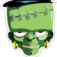 Vive le Carnaval ! - Masque Zombie