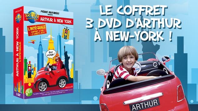 arthur à new-york le coffret