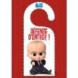 Accroche-porte Baby Boss : Défense d'entrer !
