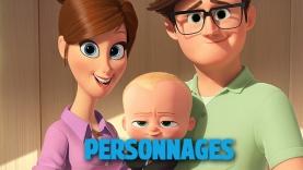 Les personnages du film Baby Boss