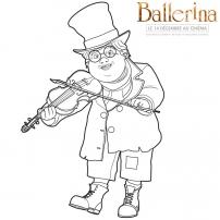 Ballerina - Coloriage  Mathurin
