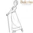 Ballerina - Coloriages Odette