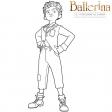 Ballerina - Coloriage Victor
