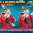 Les 7 différences