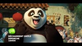 La programmation spéciale Kung Fu Panda 3