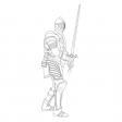 Coloriage Lancelot