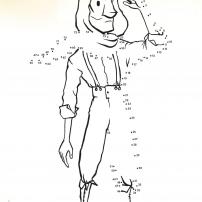 Le jeu des points à relier du cahier d'activités du Petit Prince