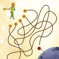 Aide le Petit prince à trouver le chemin qui mène à sa planète
