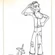 Coloriages du Petit Prince : l'aviateur et le renard