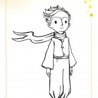 Coloriages du Petit Prince : le Petit Prince