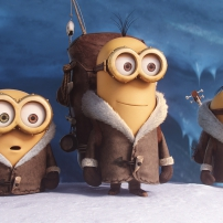 Les minions Bob, Kevin et Stuart