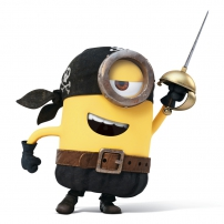 Les Minions : pirate !