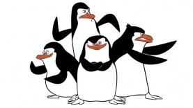 Les Pingouins de Madagascar - Coloriages
