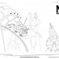 Gru et les minions au parc d'attractions