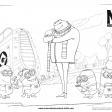 Le méchant Gru et les minions