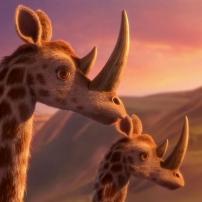 Pourquoi j'ai pas mangé mon père : la giraféroce