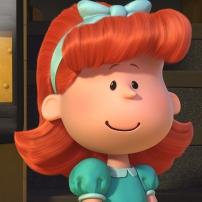 la petite fille rousse snoopy et les peanuts
