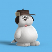 Olaf snoopy et les peanuts